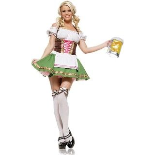 Leg Avenue Womens Gretchen Beer Girl Costume