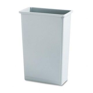 Rubbermaid Grey Commercial Slim Jim 23 gallon Waste Container