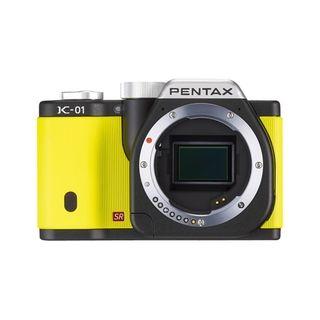 Pentax K 01 16.3MP Mirrorless Yellow Digital SLR Camera (Body Only