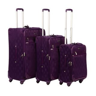 Isabella Fiore Signature 3 piece Luggage Set