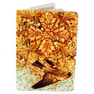 Ornate Finch Bird Lover Travel Passport Holder Clothing