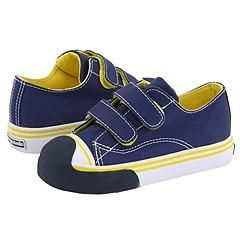 Morgan&Milo Kids Avery H&L (Toddler) Brave Navy/Yellow Athletic