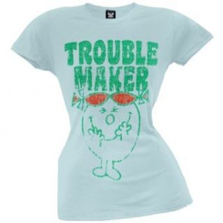 Little Miss Sunshine   Trouble Maker Juniors T Shirt
