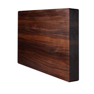 Kobi Square Walnut 1.5 inch Thick Butcher Block Cutting Board