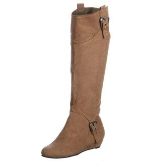 Coconuts by Matisse Womens Thornbird Tan Microfiber Boots FINAL