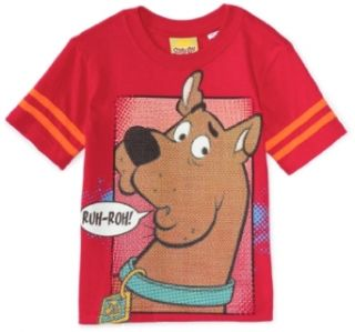 Scooby Doo Boys 2 7 Tee, Red, 7 Clothing