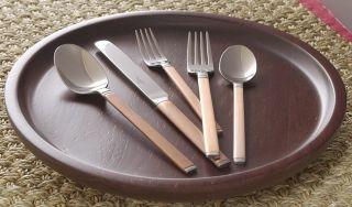 Craft 20 pc Antique Copper Flatware Set