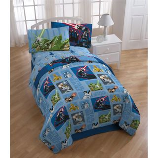 Star Wars Cartoon Bed in a Bag with Sheet Set