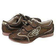 Lelli Kelly Kids Glitter 2 Bronze Athletic Shoes   Size 4 Y