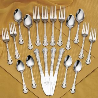 Rogers Stainless 20 piece Chelsea Flatware Set