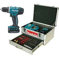 PERCEUSE   VISSEUSE MAKITA Perceuse 14.4V+ 2 batt+ coffret + 68 access