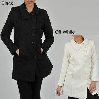 Nuage Womens Brocade Short Coat