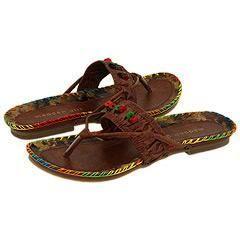 Madden Girl Tribal Brown Paris Sandals