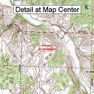 USGS Topographic Quadrangle Map   Palmyra, Indiana (Folded