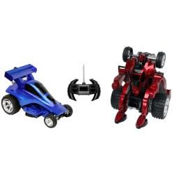 Blue Hat Savage Robot Remote Control Car with Rechargeable Battery