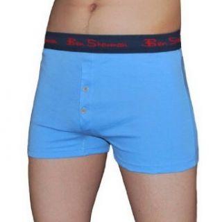 Mens Ben Sherman Button Fly Boxer Shorts / Underwear