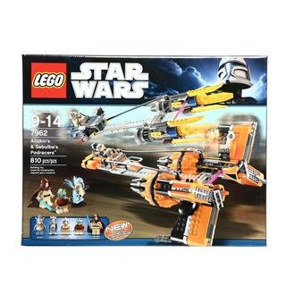 LEGO Star Wars Anakins and Sebulbas Podracers 7962