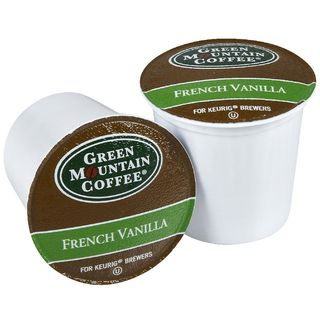 Green Mountain Coffee French Vanilla K Cups for Keurig Brewers (Case
