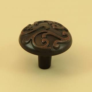 Stone Mill Hardware Ivy Oil Rubbed Bronze Cabinet Knobs (Pack of 5