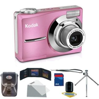 Kodak EasyShare C913 9.2MP Pink Digital Camera with Bonus Kit