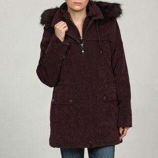 Fleet Street Faux Fur Hood Anorak