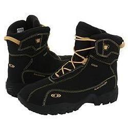 Salomon Kids B4 Gtx (Youth) Black Boots   Size 4.5