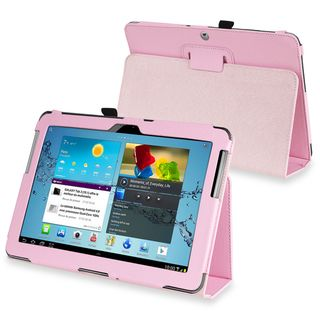 BasAcc Leather Case for Samsung Galaxy Tab 2 P5100/ P5110/ 10.1 inch
