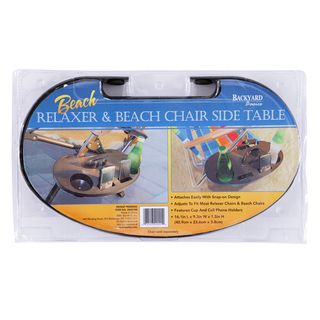 Mr. BBQ Deluxe Relaxer and Beach Chair Side Table