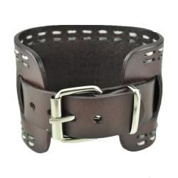 Nemesis Womens Wide Chocalate Brown Leather Watch