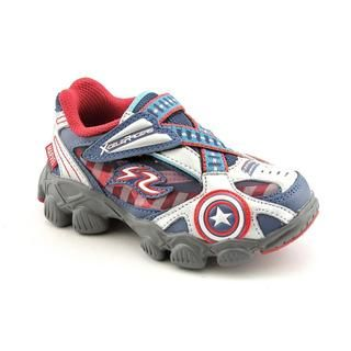 Stride Rite Boys X Celeracers Captain America Leather Casual Shoes