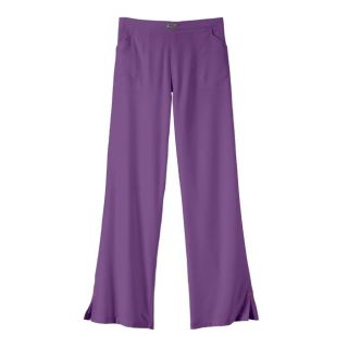 IguanaMed Womens Contempo Violet Bootcut Uniform Pants
