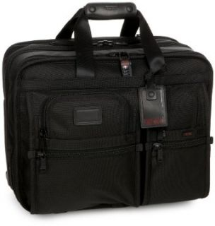 Tumi Alpha Wheeled Deluxe Expandable Briefcase With
