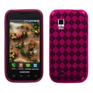 MYBAT Hot Pink Argyle Candy Case for Samsung© i500 Fascinate