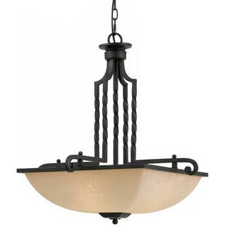 Triarch International 3 light Blacksmith Bronze LaCosta Pendant