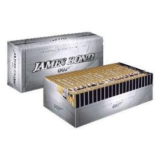 COFFRET JAMES BOND 007  Intégrale 22 films 44 DVD   Achat / Vente DVD