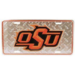 Oklahoma State University Car Tag Diamond Plate Case Pack