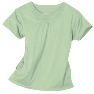 IguanaMed Womens Seafoam Green 2 pocket Scrub Top