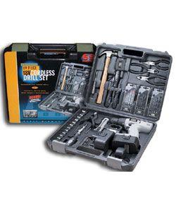 Fixit 69 piece 18V Cordless Drill Set