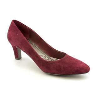 Easy Spirit Womens Quota Regular Suede Dress Shoes (Size 8.5