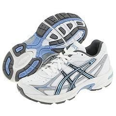 ASICS Kids Gel 150TR Gs (Youth) White/Blue/Silver Athletic
