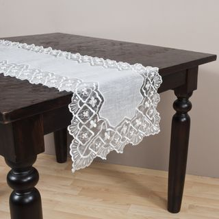 Embroidered and Hand beaded Table Runner