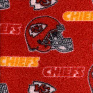 NFL Kansas City Chiefs Polar Fleece Fabric Sports