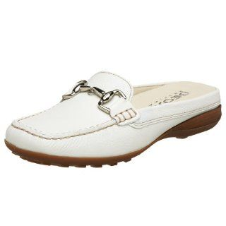Geox Womens Donna Euro 25 Mule,White,35 EU (US Womens 5 M) Shoes