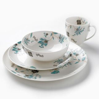 Denby Monsoon Veronica 16 piece Dinnerware Set
