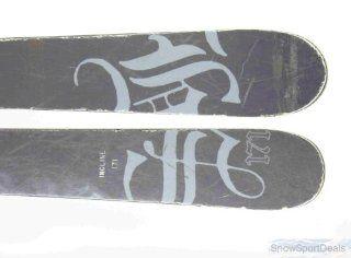 Used High Society Freeride Shape Ski with Binding 171cm C