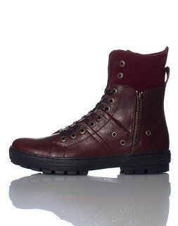 LEVIS MENS SAHARA LE BOOT Dark Red   Footwear/Boots 8 Shoes