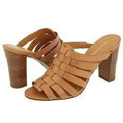 Enzo Angiolini Quiz Natural Leather Sandals