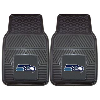 Fanmats Seattle Seahawks 2 piece Vinyl Car Mats