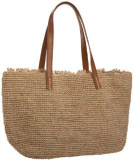 Mar Y Sol Wellfeet Crochet Raffia Tote,Natural,one size Shoes