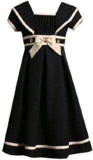 Bonnie Jean Girls 7 16 Nautical Dress,Navy,7 Clothing